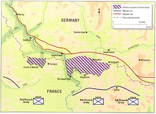 Saar Offensive French ground operation into Saarland from 7 to 16 September 1939