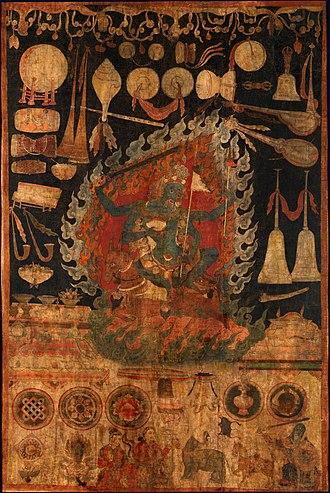 Palden Lhamo - Image: Offerings to the Goddess Palden Lhamo