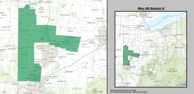 Ohio's 8th congressional district - since January 3, 2013.