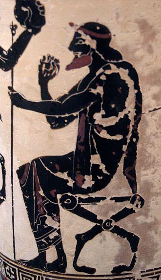 Oeneus - Image: Oineus Staatliche Antikensammlungen 1905