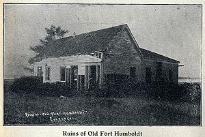 Fort Humboldt State Historic Park - Abandoned building