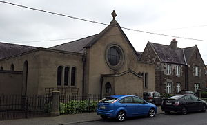 Coolock - The old St Brendan's Church on Main Street