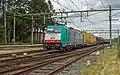 Oldenzaal NMBS 2831 E 186 223 met de Volvotrein (14319585509).jpg