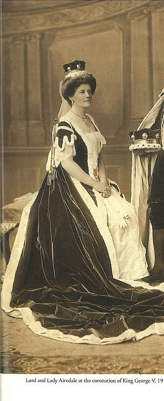 Pippa Middleton - Olive Middleton's cousin Baroness Airedale at the coronation of George V; the two cousins worked together for the war effort during the Great War
