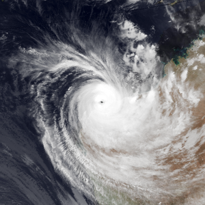 Cyclone Olivia - Image: Olivia Apr 10 1996 1123Z