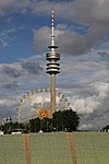 Olympia-Stadium München Turm und Sommerfest 9475.jpg