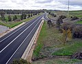 Olympic Highway looking south bound on the Boorooma Street overpass.jpg