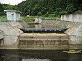 Onikuma Dam Higashijo River spillway 3.jpg