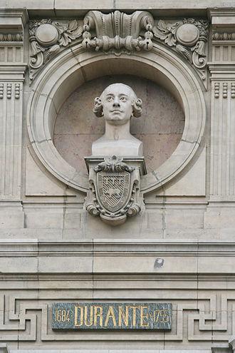 Francesco Durante - Durante finds a place on the Opéra Garnier, Paris, perhaps by virtue of his students