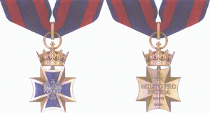 Order of the Military Cross - Image: Order Krzyza Wojskowego Krzyz Wielki