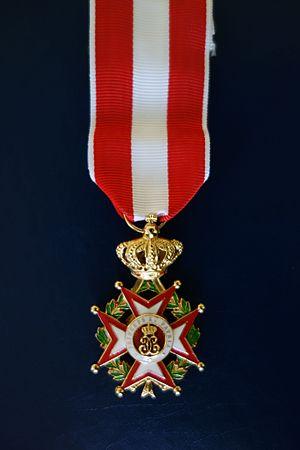 Order of Saint-Charles - Knight cross of the Order of St Charles