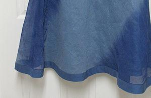Organza - Skirt made from organza