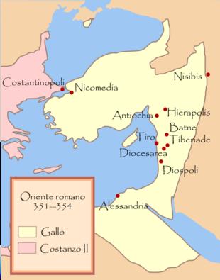 Oriente Romano sotto Costanzo Gallo