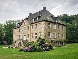 Krebsburg Manor. Ostercappeln, Osnabrück Land, Lower Saxony, Germany