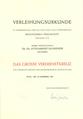 Ottoarndt Glossner, Das Große Verdienstkreuz, Bonn, 1993.png