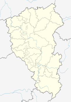 Anzhero-Sudzhensk is located in Kemerovo Oblast