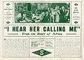Oversized release flier for I HEAR HER CALLING ME, 1913.jpg