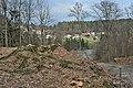 Pörtschach Seeburger Weg Burgruine Leonstein äußere Ost-Mauer 22032014 340.jpg