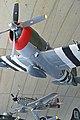 P-47D Thunderbolt & P-51D Mustang, American Air Museum, Duxford. 07-5-2016 (30929468116).jpg
