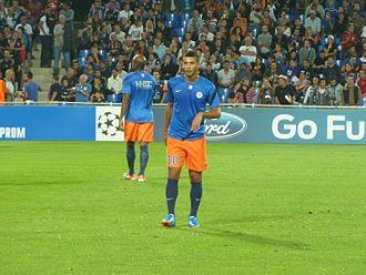 Younès Belhanda - Younès Belhanda 18 September 2012, in the UEFA Champions League.