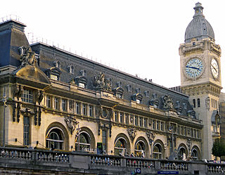 train station in Paris, France