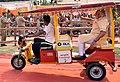 PM Modi takes e-rickshaw ride in Varanasi (26889795432).jpg