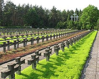 Palmiry Village in Masovian Voivodeship, Poland