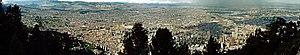 Panorama vanas bogotaf