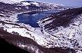 Panoramic image of Mavrovo, Republic of Macedonia in winter.jpg
