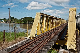 Papar, Malaysia - Image: Papar Sabah Railway Bridge 01