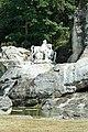 Parc de Versailles, bosquet des Bains-d'Apollon, Chevaux au soleil, Gaspard et Balthazar Marsy 01.jpg
