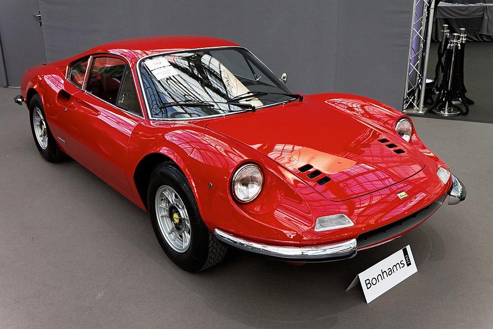 Paris - Bonhams 2013 - Ferrari Dino 246 GT Berlinetta - 1973 - 001