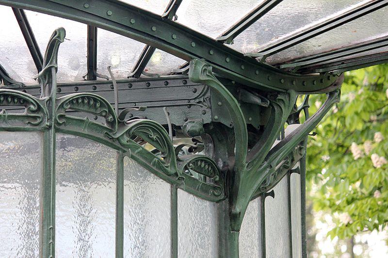 File paris metro 2 porte dauphine libellule detail jpg wikimedia commons - Portes ouvertes paris dauphine ...