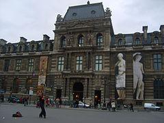 Paris Rue de Rivoli Aile de Rohan du Louvre 20070219 (2).jpg