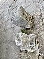 Parish boundary stone near junction with Dartmouth Park Hill, July 2021 02.jpg