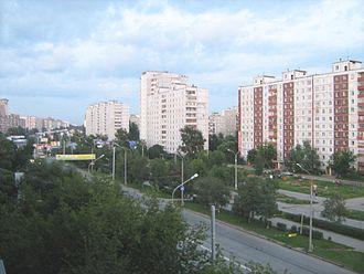 Parkovy Avenue - Parkovy Avenue at the evening