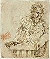 Parmigianino - Etude pour le portrait de Galeazzo Sanvitale, INV 6472, Recto.jpg