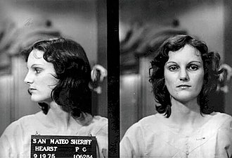 F. Lee Bailey - Patty Hearst mugshot.