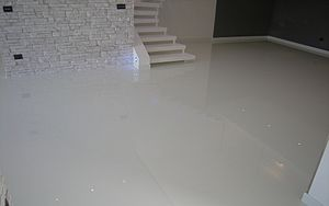 Flooring - Seamless resin floor