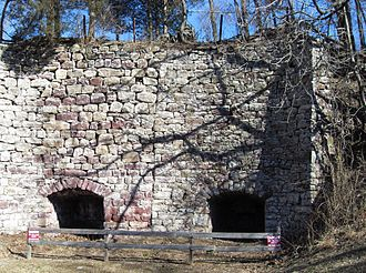 Peapack-Gladstone, New Jersey - Lime kiln