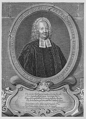 1689 in Norway - Peder Hersleb, Bishop of the Diocese of Oslo from 1731 to 1737.