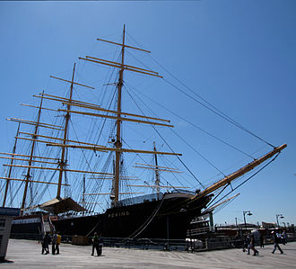 Flying P-Liner - Peking, at South Street Seaport, New York
