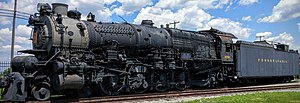 Pennsylvania Railroad class M1 - Image: Pennsylvania Railroad M1b 6755