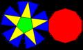 Pentagonal anticupola net.png