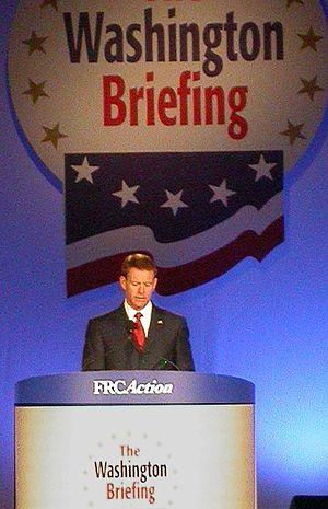 Tony Perkins in 2007 in Washington, DC at the ...