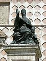 Perugia, duomo, statua di Giulio III di vincenzo danti.JPG
