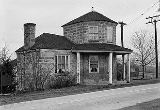 Addison, Pennsylvania - The Petersburg Tollhouse, on the National Road in Addison, Pennsylvania
