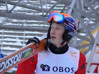 Belarusian ski jumper