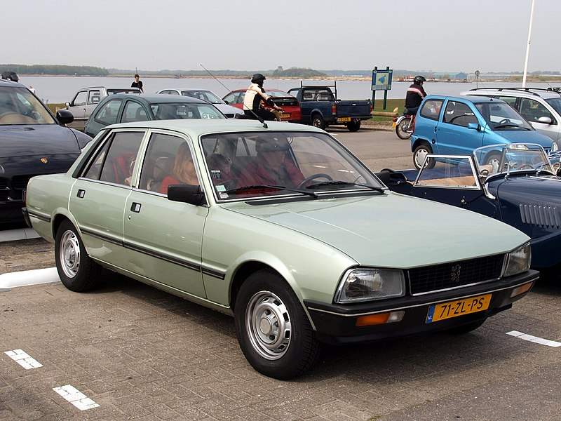 file peugeot 505 sr automatique 1979 dutch licence registration 71 zl ps pic2 jpg wikimedia. Black Bedroom Furniture Sets. Home Design Ideas