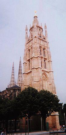 La torre Pey Berlan, il campanile della cattedrale di St. André